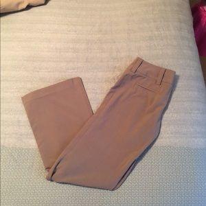 Pants - Tan boot cut dress pants